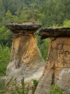 The Pokli�ky (Capstones) rock formation in Koko��nsko PLA